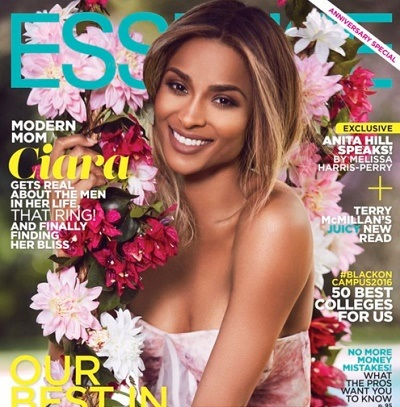 CIARA DISCLOSES HER MOM HAS BEEN WAITING FOR 10YEARS TO SEE HER ON ESSENCE MAG. COVER