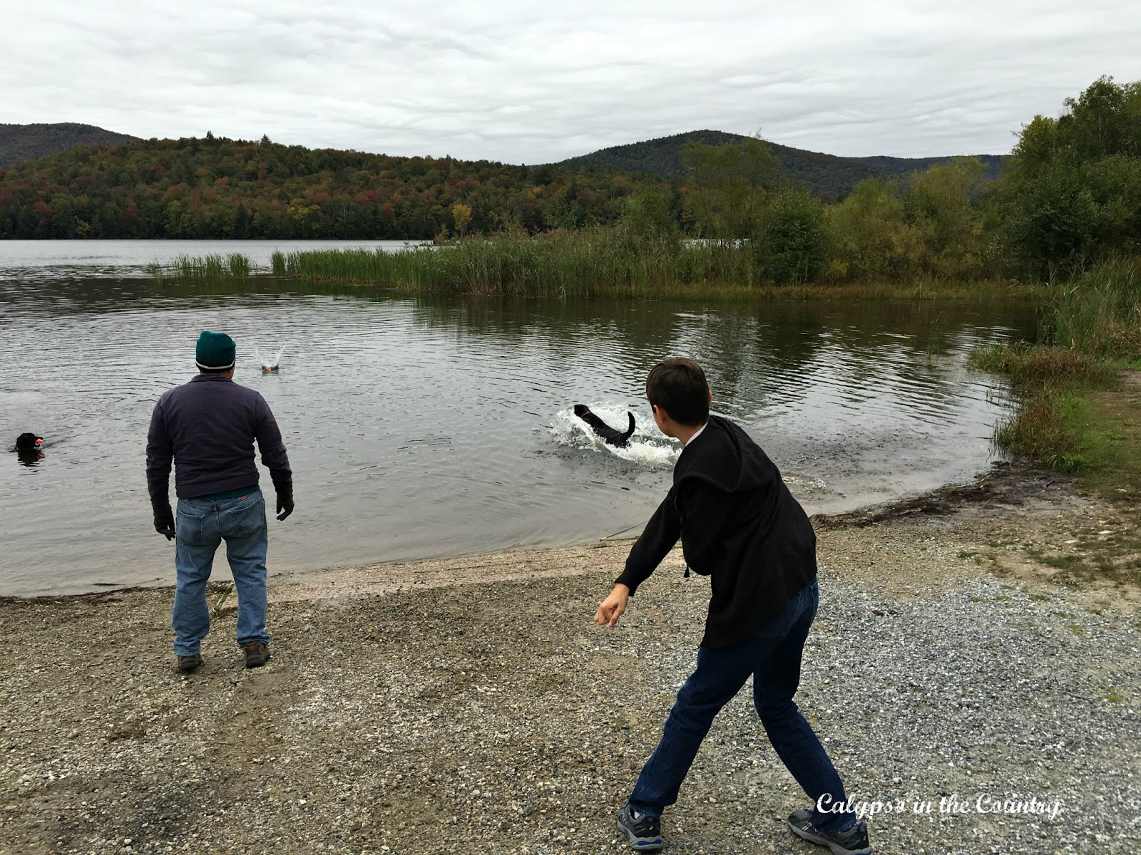 Kent Pond in Vermont