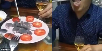 بهڤیدیۆ..خهڵكی چین بەدزییەوە خواردنه قهدهغه كراوهكان دەخۆن