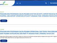 PT Angkasa Pura Buka Lowongan Kerja Untuk Lulusan D.III Hingga 19 Januari 2019