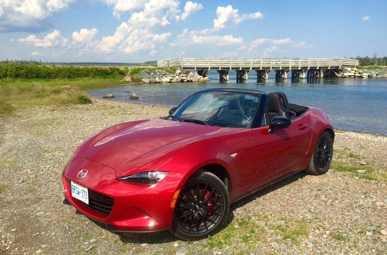 2016 mazda mx 5 gs soul red sport package