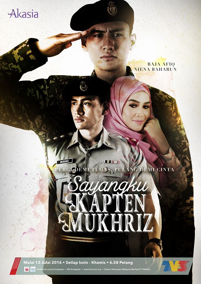 Drama Sayangku Kapten Mukhriz (TV3)