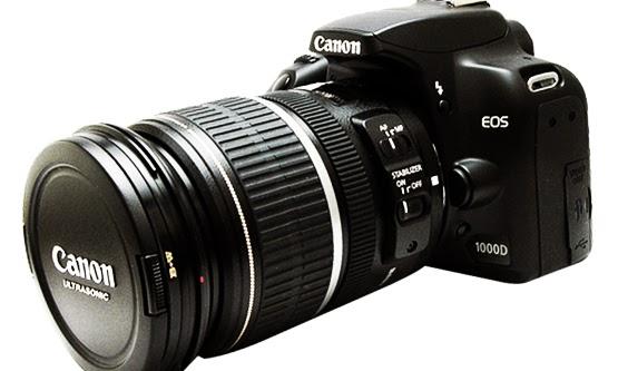 Harga Kamera Canon EOS 1000D Terbaru dan Spesifikasi Lengkap