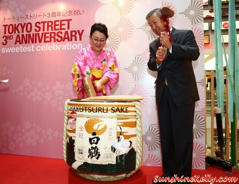Kagami Biraki, Tokyo Street 3rd Anniversary Sweetest Celebration, tokyo street, japan, pavilion kl, kuala lumpur, sweetest celebration, japan culture, Kocyou No Mai, Yosakoi Bushi