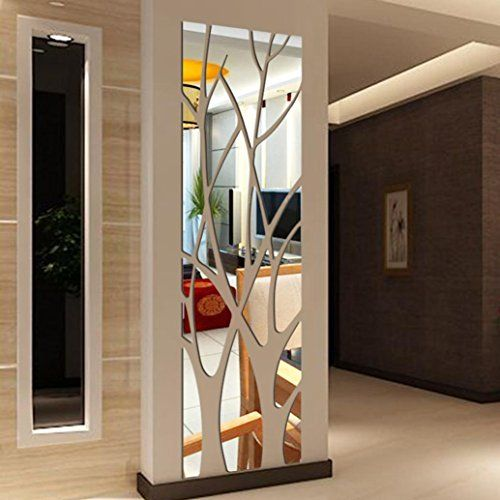 Modern wall mirror design ideas for living room wall decoration 2019