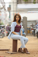 Shraddha Das in a Lovely Brown Top and Denim jeans ~ Exclusive Unseen Beauty HD Pics 018.JPG