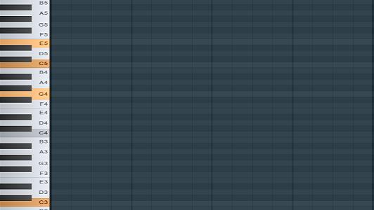 Tekan tombol keyboard langsung bunyi chord
