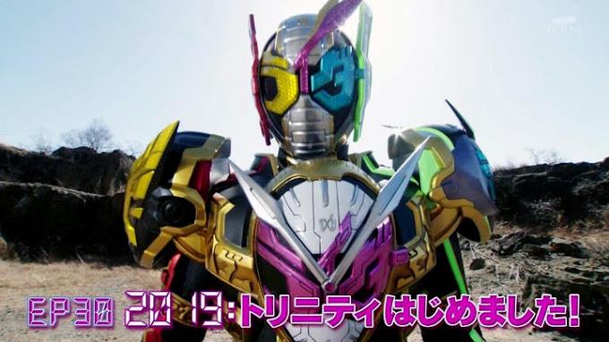 Spoiler Kamen Rider Zi-O Episode 30, Kamen Rider Zi-O Trinity Form