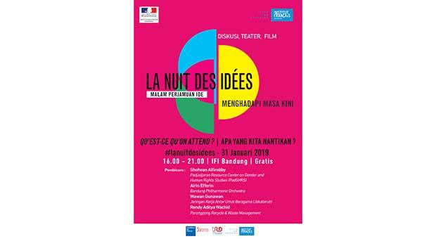 Institut Français Indonesia Gelar Malam Perjamuan Ide