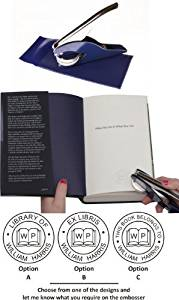 Book page embosser