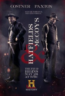 hatfields and mccoys on the history channel, may, 9pm, costner, paxtonchannel