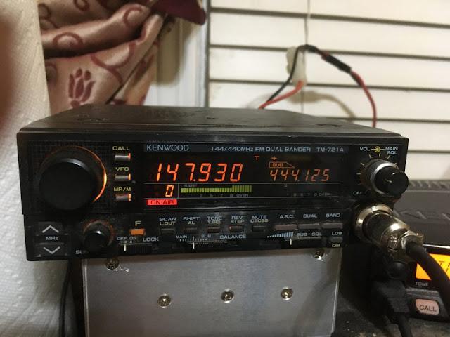 Kenwood TM-721A Mobile Radio