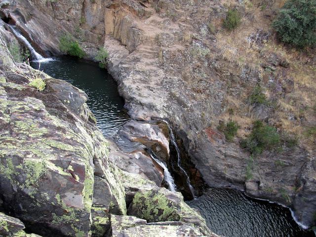 Cascada del Aljibe en Campillo de Ranas. Guadalajara