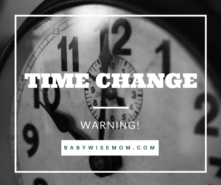Time Change Warning