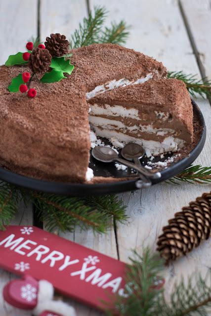 Merveilleux au chocolat pour Noël