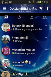BBM Mod Uefa Champions v2.13.1.14 Apk Terbaru
