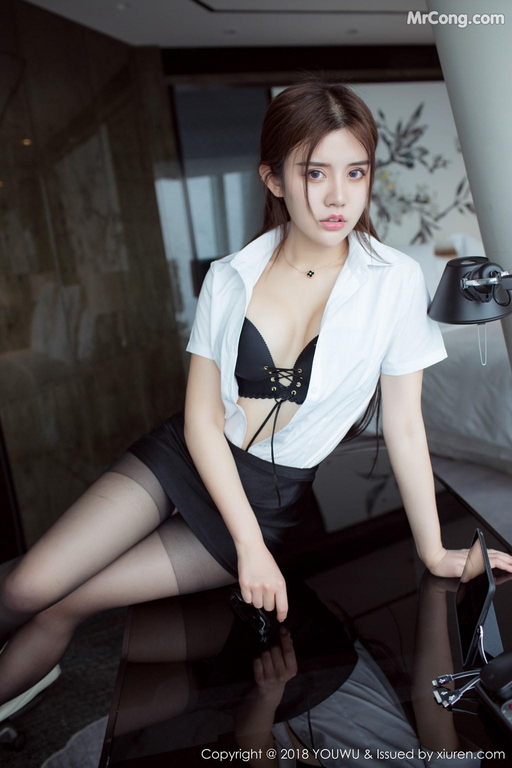 Image YouWu-Vol.081-Nina-MrCong.com-002 in post YouWu Vol.081: Người mẫu 兔子Nina (43 ảnh)