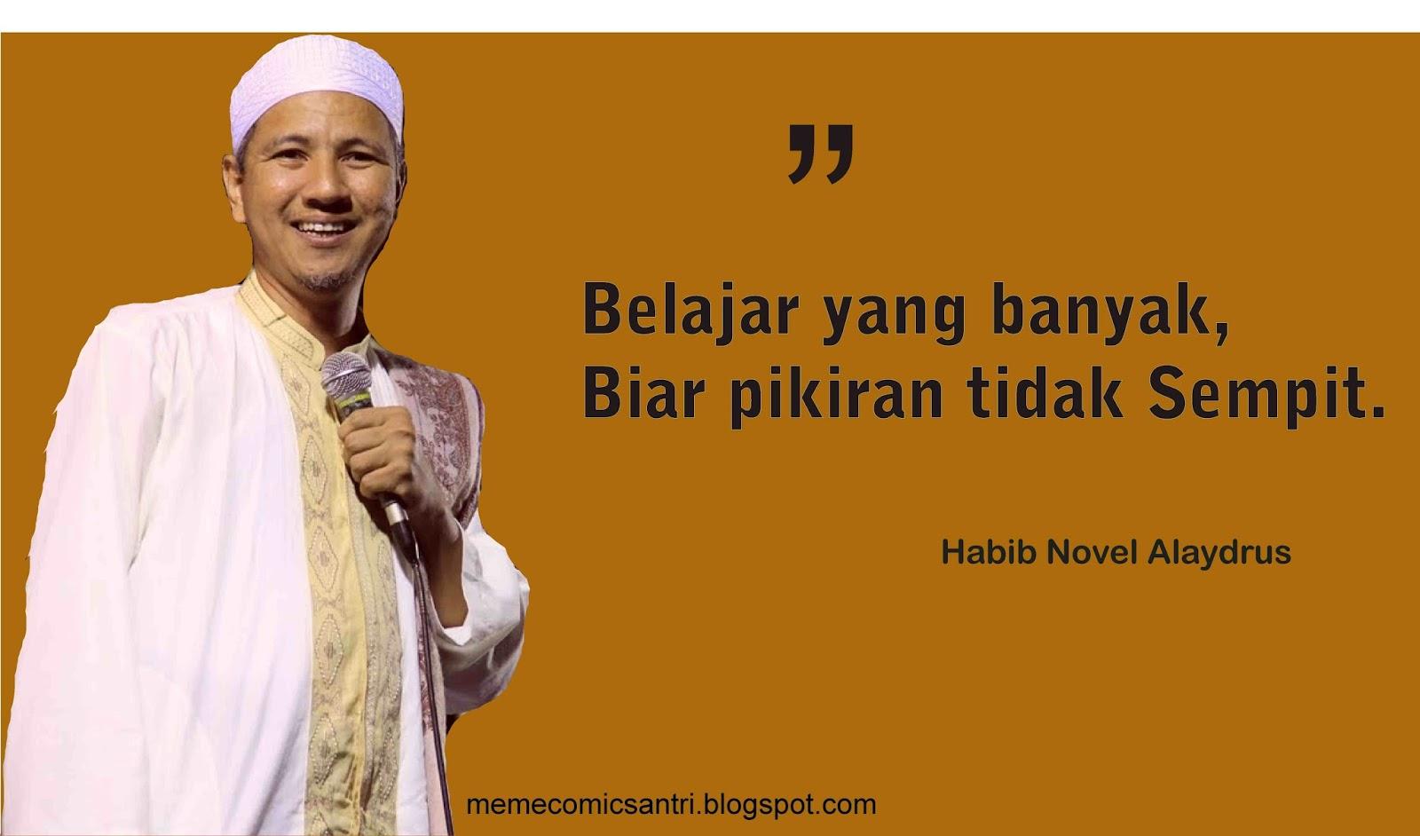 Kata Mutiara Nasehat Dari Habib Novel Alaydrus Meme Comic Santri