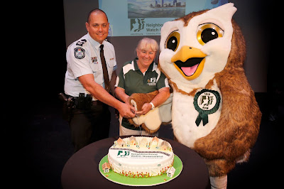Neighbourhood Watch Queensland 30th birthday Cake