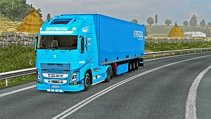 Poredda skin and trailer for Volvo 2013