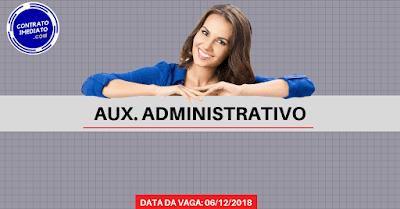 auxiliar administrativo em curitiba