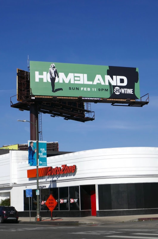 Homeland season 7 billboard