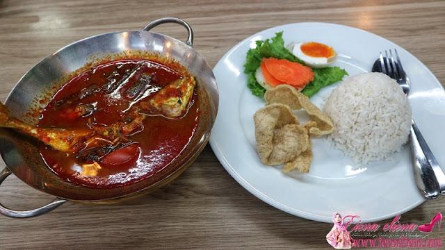 Asam Pedas Ikan Kembong di Hot Pindang Kitchen