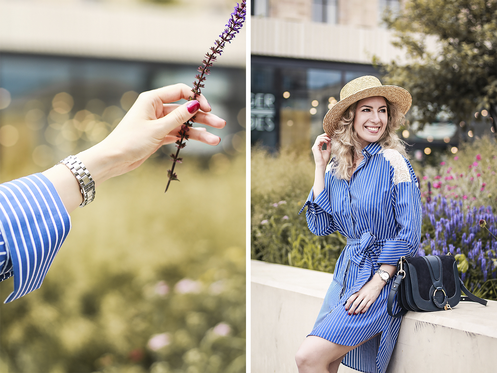 Rita_maslova_zara_blue_striped_shirt_dress_summer_outfit_hat_boater_see_by_chloe_hana