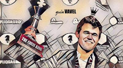 Fotomontaje de Magnus Carlsen.