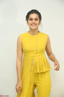 Taapsee Pannu looks mesmerizing in Yellow for her Telugu Movie Anando hma motion poster launch ~  Exclusive 127.JPG