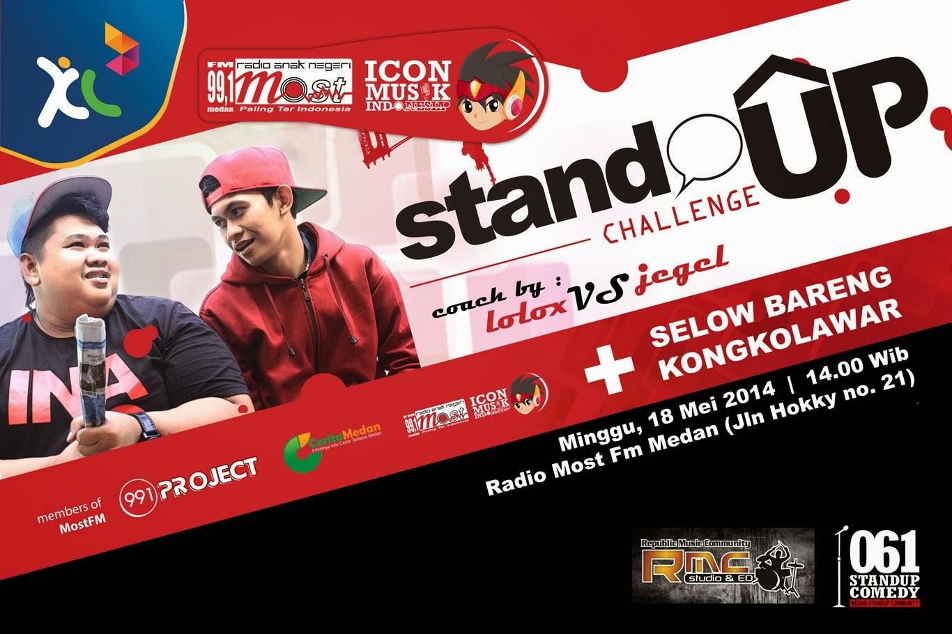 Most FM Medan Stand Up Challenge