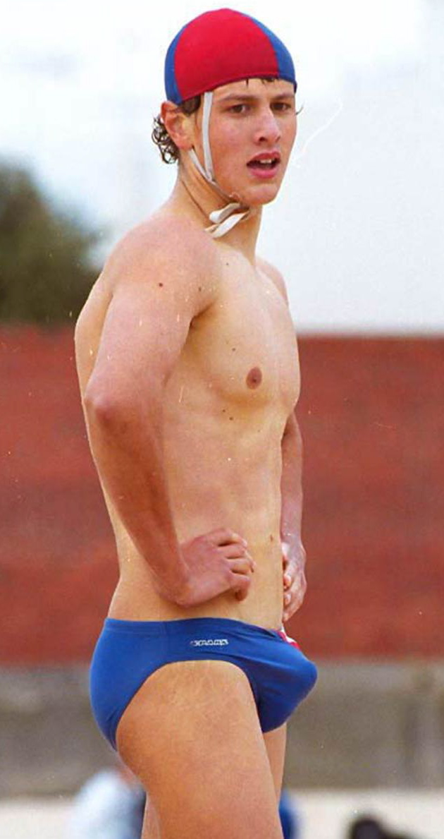 speedo bulge grab