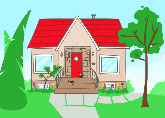 New Little House Commission! If You Want Me To Draw Your House In This  Style For Only $25, Drop Me An Email!