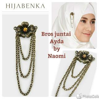 Aksesoris Naomi Mempercantik Gaya Hijabmu