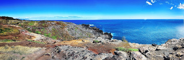 scenery near the Nakalele Blowhole