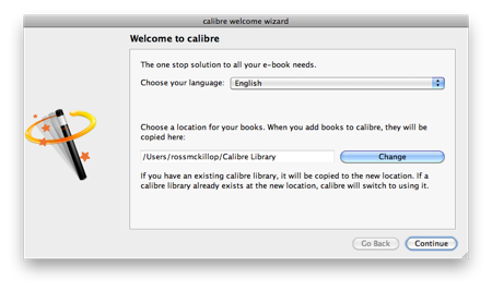Calibre, E-Book Management for Mac OS, Windows and Linux