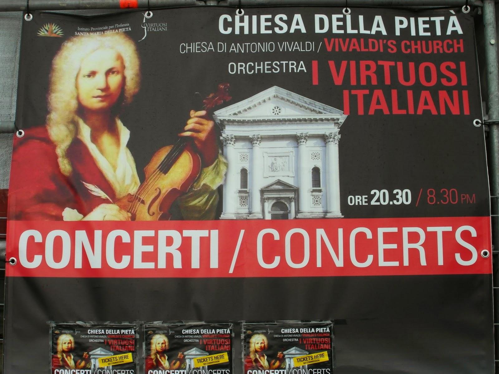 """Vivaldi's Church"", Venice"