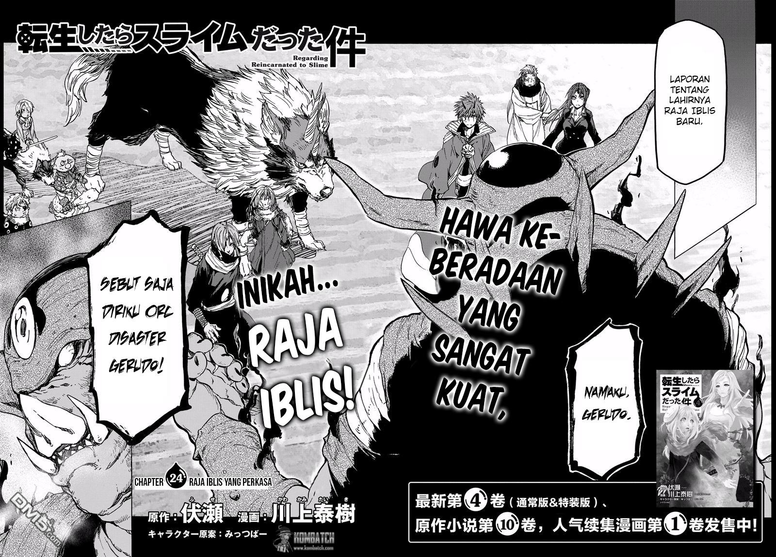 Baca Manga Tensei Shitara Slime Datta Ken Chapter 24 Bahasa Indonesia