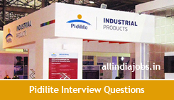 Pidilite Industries Interview Questions Technical Hr For Freshers And Experienced Freshers Jobs Experienced Jobs Govt Jobs Career Guidance Results