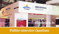 Pidilite Industries interview Questions