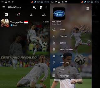 BBM Mod Cristiano Ronaldo