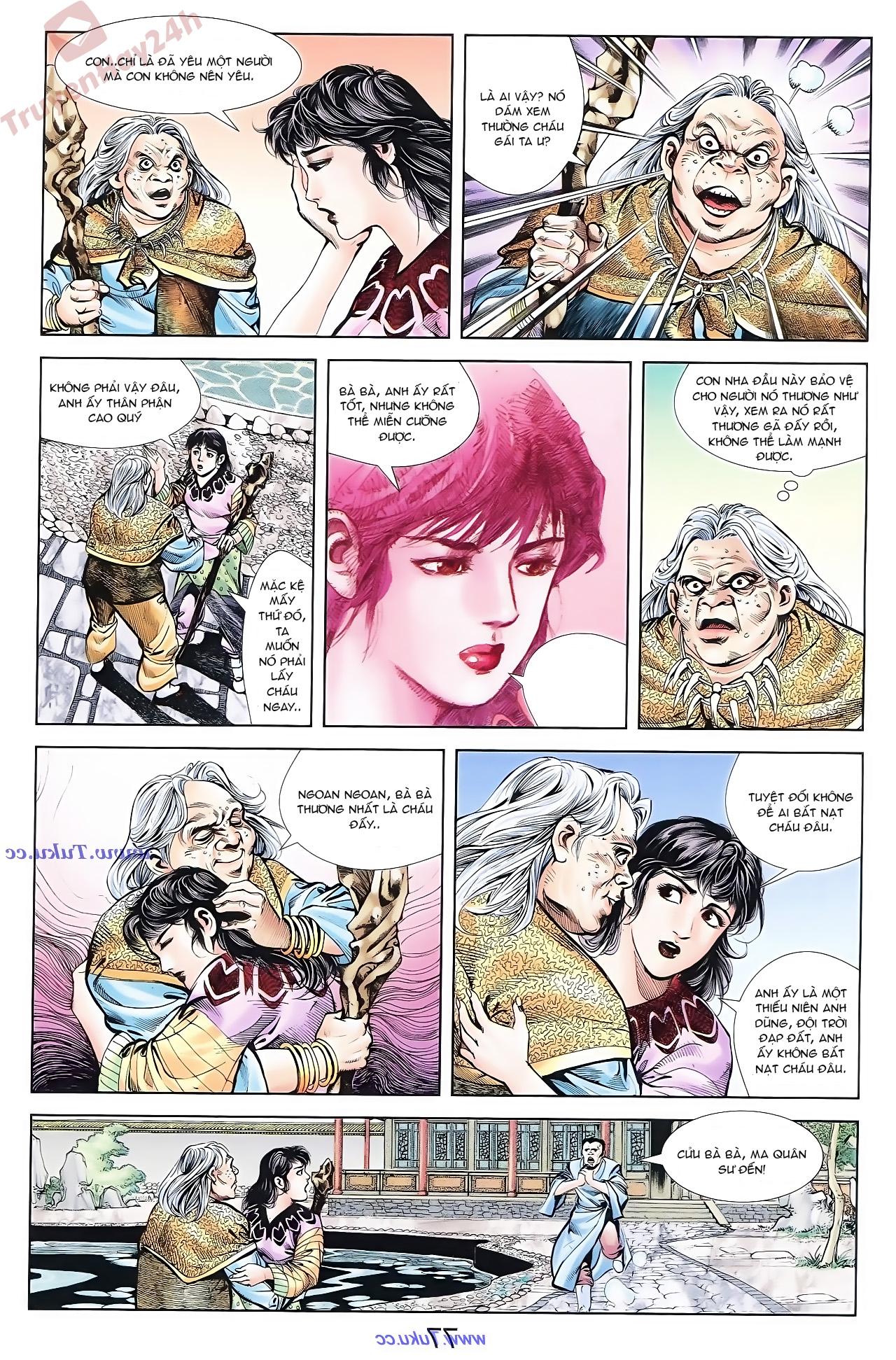 Cơ Phát Khai Chu Bản chapter 71 trang 4