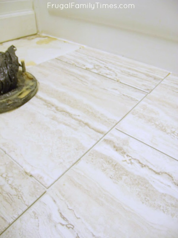 how to grout peel and stick tile
