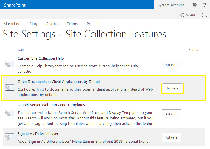 How to activate a feature in SharePoint using PowerShell