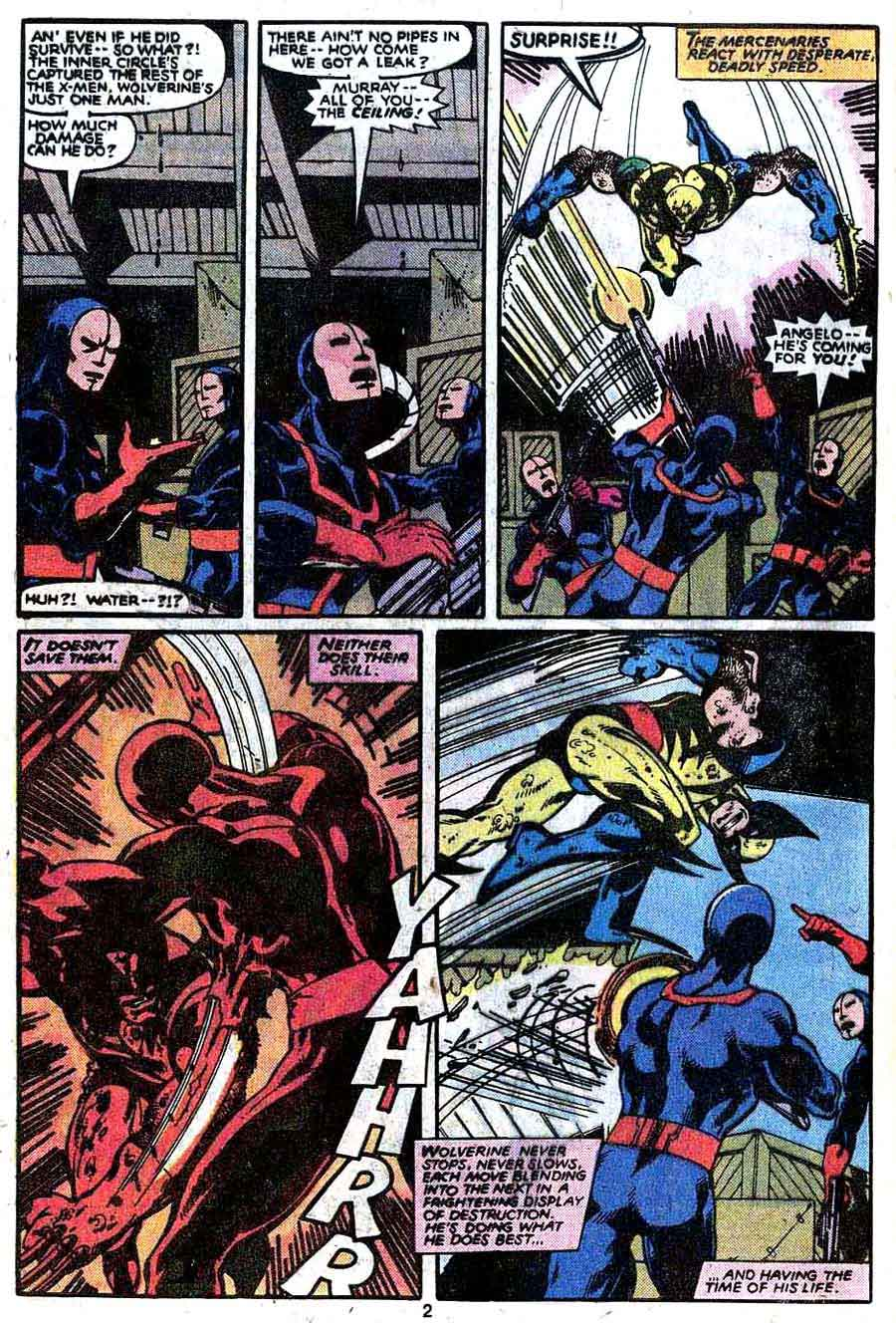 X-men v1 #133 marvel comic book page art by John Byrne