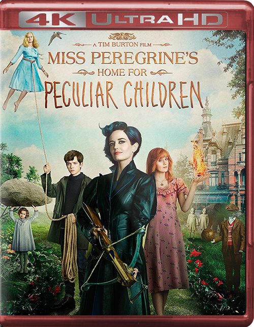 Miss Peregrine's Home for Peculiar Children [2016] [UHD] [2160p] [Latino – Castellano]
