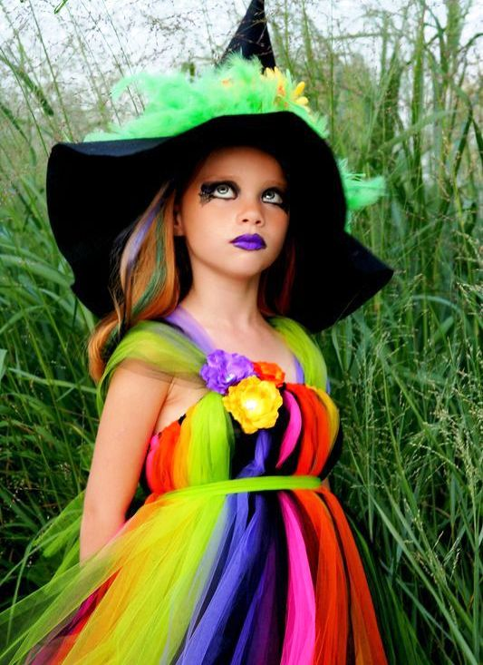 Best Halloween Witch Makeup Kids Photos - harrop.us - harrop.us