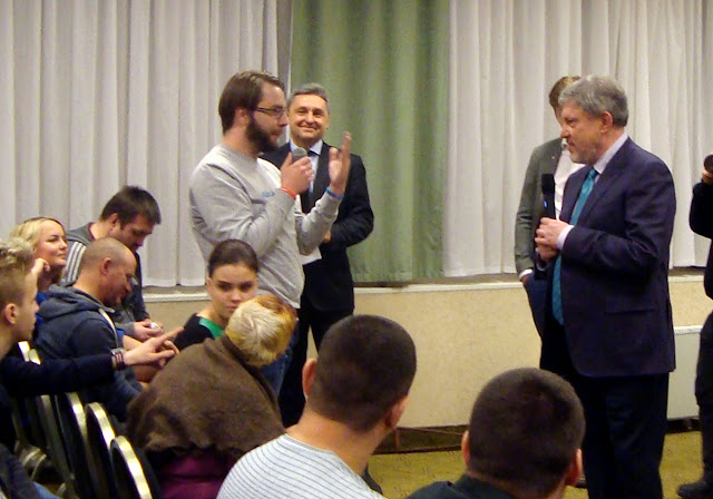05.02.18 Встреча Григория Явлинского с избирателями в Самаре.