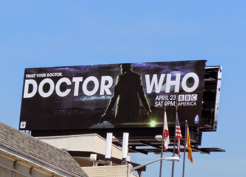 Doctor Who season 6 BBC America billboard