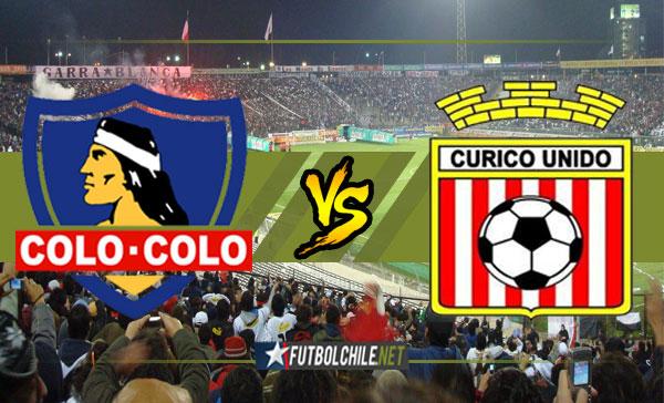 Colo Colo vs Curicó Unido - 17:30 h - Campeonato Transición - 03/12/17